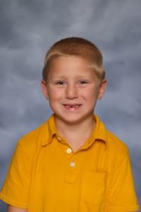 09 22 John - 1st Grade